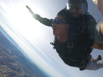 Skydive from 11,000 ft, free fall - FLY to 5,000 ft.